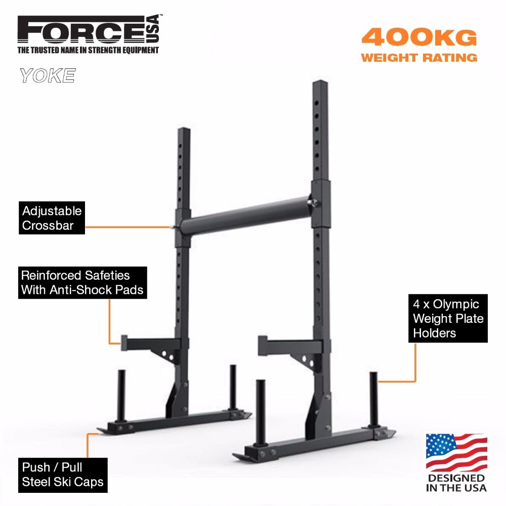 Force USA Yoke and Squat Stand Combo | Gym & Fitness
