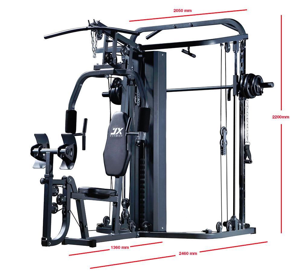 Home Exercise Equipment Usa: JX Utility 138Lbs Home Gym